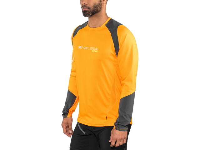 Endura MT500 Burner Longsleeve Jersey Herr mango